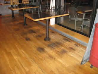 Mr sandless we are your solution for stains - Como quitar manchas de limon en el piso ...